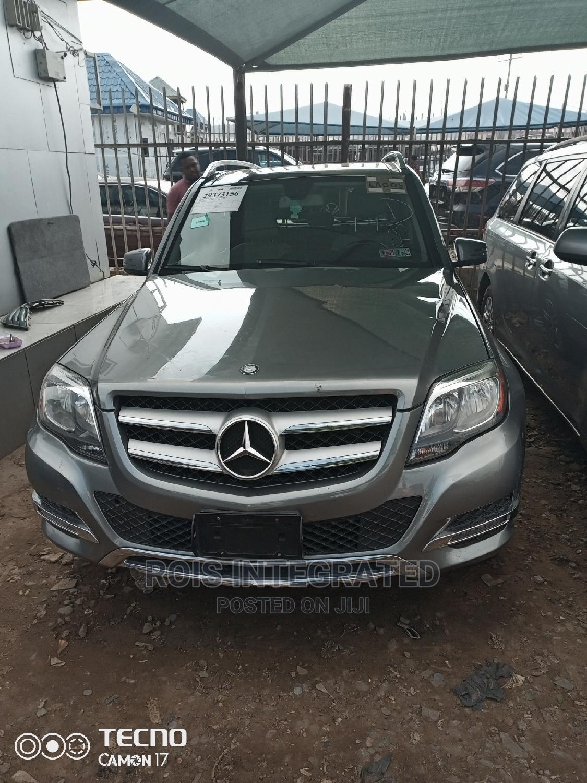 Mercedes-Benz GLK-Class 2014 Gray
