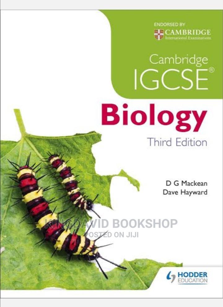 Cambridge IGCSE Biology by Mackean