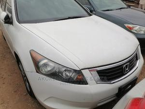 Honda Accord 2008 2.0 Comfort Automatic White | Cars for sale in Lagos State, Ikeja