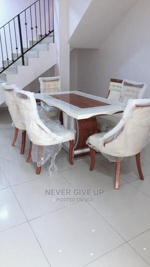Dinning Table White Color   Furniture for sale in Lagos State, Ajah