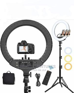 18 Inches Ring Light With Stand   Accessories & Supplies for Electronics for sale in Lagos State, Ikeja