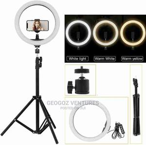 33CM 12 Inches Ring Light With Stand | Accessories & Supplies for Electronics for sale in Lagos State, Ikeja