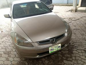 Honda Accord 2005 Coupe EX V6 Gold | Cars for sale in Abuja (FCT) State, Karu