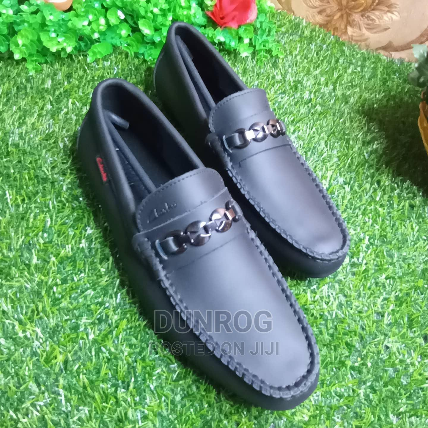 Quality Clarks Mens Loafers From 42 to 45   Shoes for sale in Ikeja, Lagos State, Nigeria