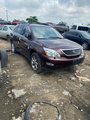 Lexus RX 2008 350 AWD Red | Cars for sale in Lagos State, Amuwo-Odofin