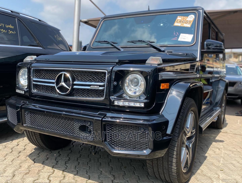 Mercedes-Benz G-Class 2015 Black   Cars for sale in Ikeja, Lagos State, Nigeria