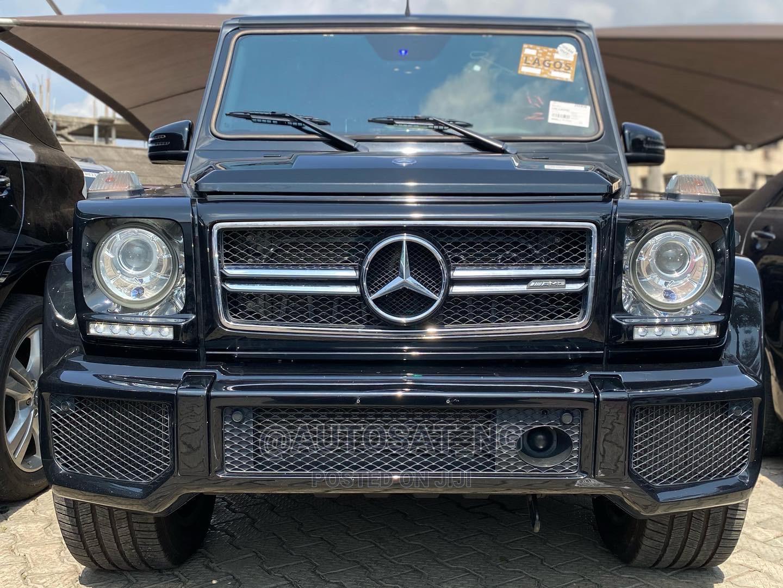 Mercedes-Benz G-Class 2015 Black