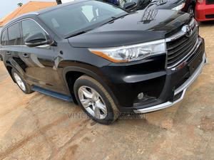 Toyota Highlander 2017 XLE 4x4 V6 (3.5L 6cyl 8A) Black | Cars for sale in Kwara State, Ilorin West