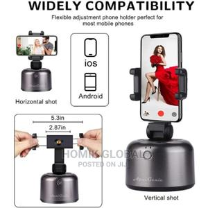 Auto Tracking-Shooting 360 Rotation Holder - Robot Cameraman   Accessories for Mobile Phones & Tablets for sale in Lagos State, Abule Egba