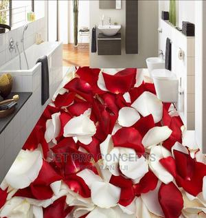 3D Red Rose Petals Epoxy Flooring   Wedding Venues & Services for sale in Lagos State, Ikoyi