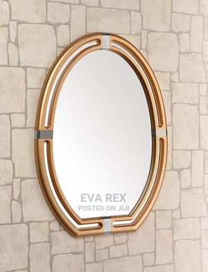 Gold Fancy Wall Mirror | Home Accessories for sale in Lagos State, Amuwo-Odofin