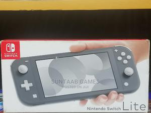 Nintendo Switch Lite-Gray + Carrying Case | Video Game Consoles for sale in Lagos State, Lagos Island (Eko)
