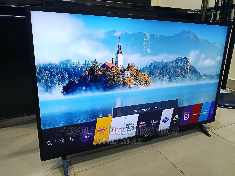LG 43 Inch WEBOS Wifi Smart UHD LED TV - UK Used