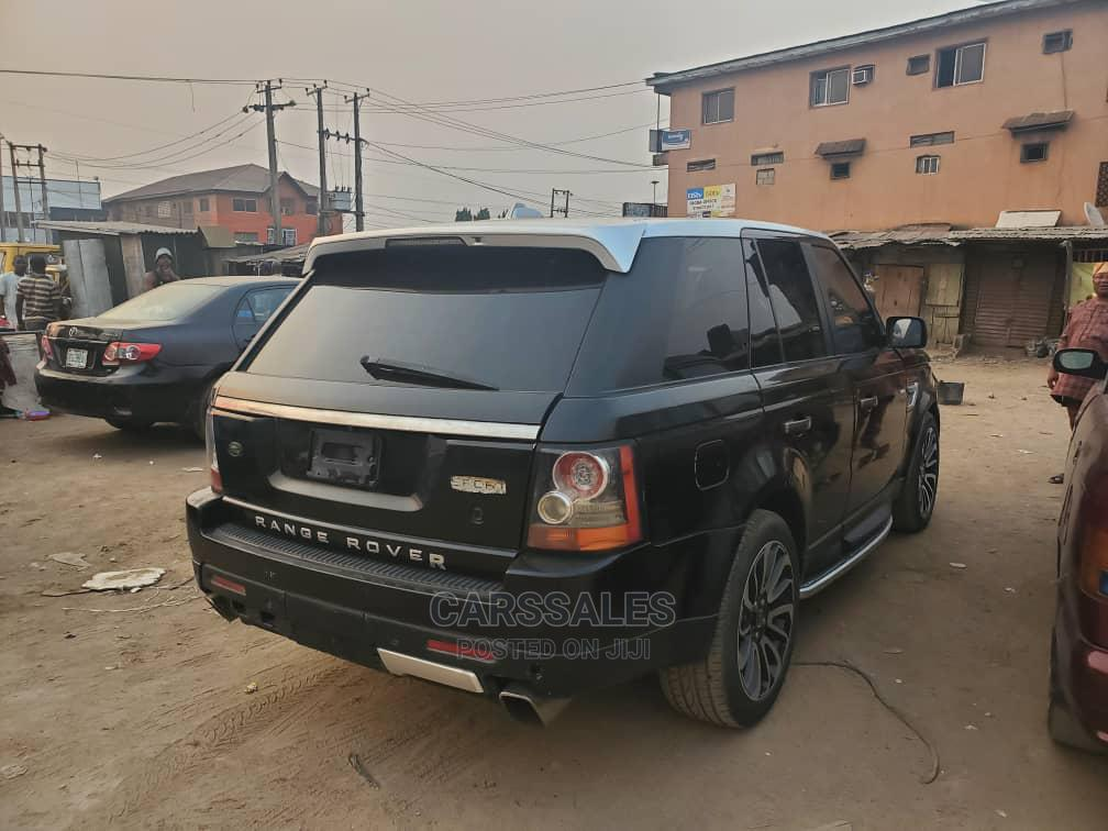 Land Rover Range Rover Sport 2008 Black | Cars for sale in Agege, Lagos State, Nigeria