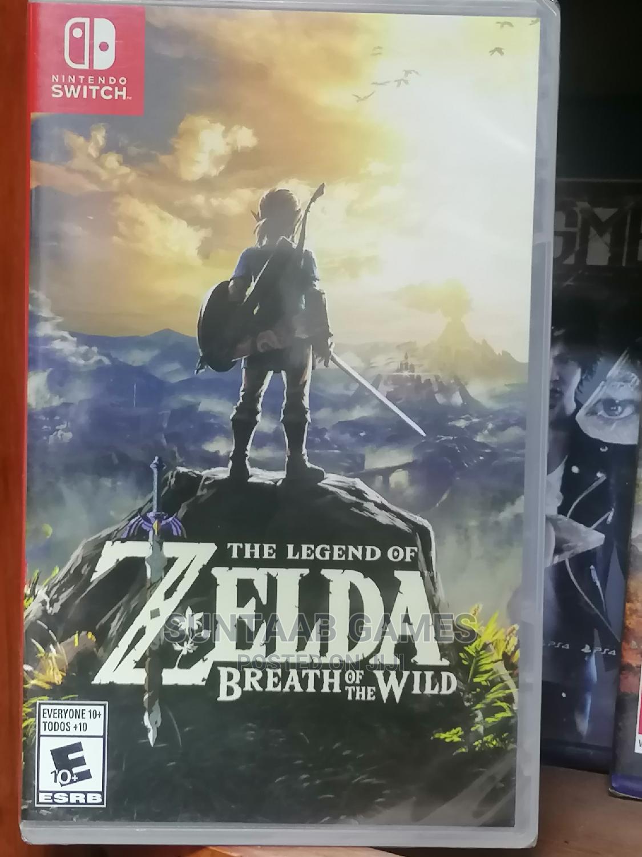 The Legend of Zelda:Breath of the Wild-Nintendo Switch