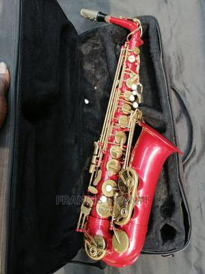 Red and Gold Standard Japan Alto Saxophone   Musical Instruments & Gear for sale in Lagos State, Agboyi/Ketu