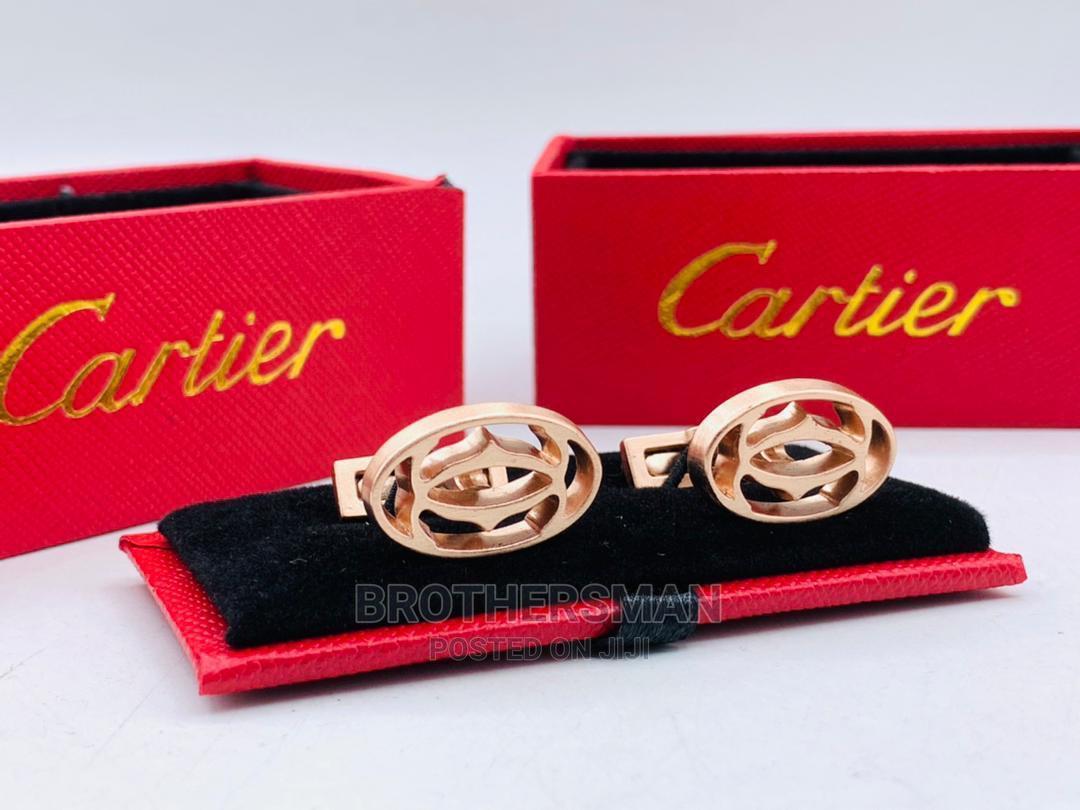 Cartier Cufflinks Buttons