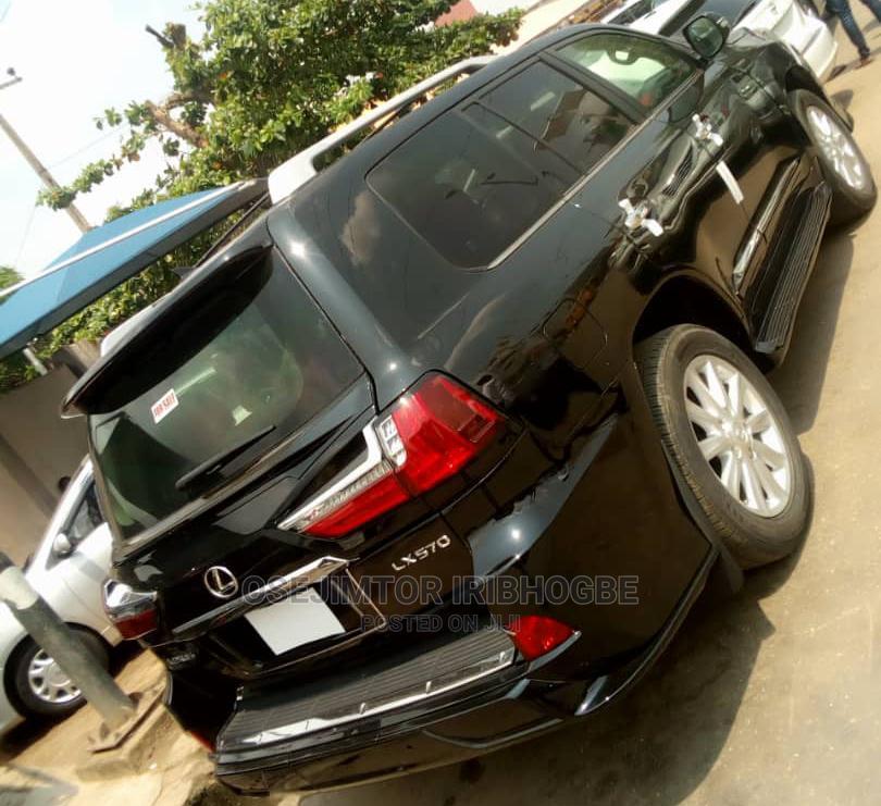 Lexus LX 2009 570 Black | Cars for sale in Ikeja, Lagos State, Nigeria