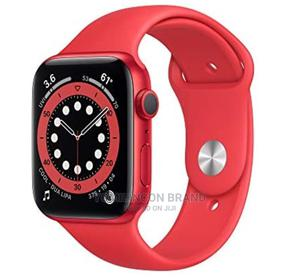 Iwatch Series 6 44mm Gps+Cellular Red   Smart Watches & Trackers for sale in Lagos State, Ikeja