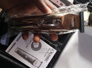 Cronier Hair Detailer and Trimmer Rechargeable | Tools & Accessories for sale in Lagos State, Agege