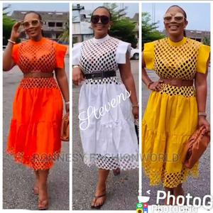 Elegant Classic Female Quality Flare Gown   Clothing for sale in Lagos State, Ikeja