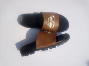 Quality Brown Leather Palm   Shoes for sale in Edo State, Auchi