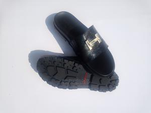 Quality Black Leather Palm | Shoes for sale in Edo State, Auchi