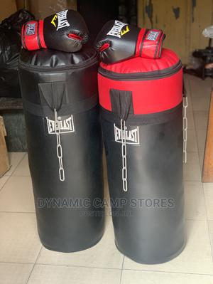 Punching Bag With Boxing Glove   Sports Equipment for sale in Lagos State, Surulere