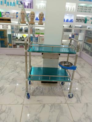 Stainless Steel Surgical Instrument Trolley   Medical Supplies & Equipment for sale in Rivers State, Port-Harcourt