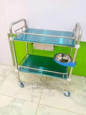 Strong and Sturdy Medical Stainless Steel Instrument Trolley   Medical Supplies & Equipment for sale in Rivers State, Port-Harcourt