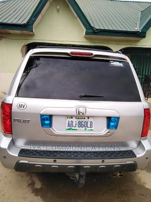 Honda Pilot 2005 EX 4x4 (3.5L 6cyl 5A) Silver | Cars for sale in Abuja (FCT) State, Nyanya