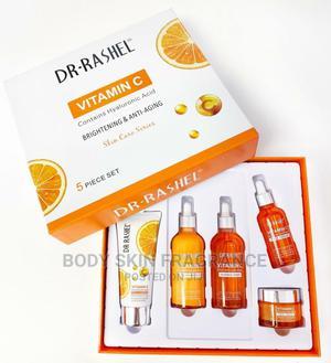 Dr Rachel Vitamin C 5 Piece Set Face Care Combo | Bath & Body for sale in Lagos State, Amuwo-Odofin