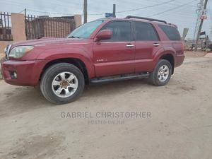 Toyota 4-Runner 2006 Limited 4x4 V6 Red | Cars for sale in Lagos State, Surulere
