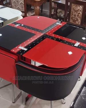 Classic Dinning Set by 4   Furniture for sale in Lagos State, Ilupeju