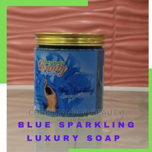 Blue Sparkling Luxury Soap   Bath & Body for sale in Lagos State, Ikeja
