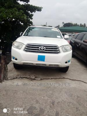 Toyota Highlander 2009 Limited 4x4 White   Cars for sale in Lagos State, Apapa