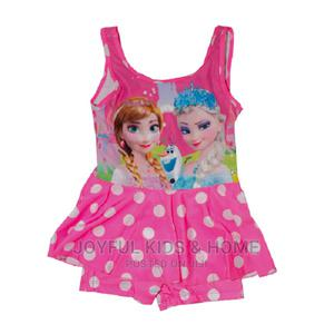 Girls Swimming Costume- Pink and Multi Colours | Children's Clothing for sale in Lagos State, Ojota