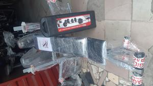 Weight Bench With 50kg Barbell | Sports Equipment for sale in Lagos State, Ikeja
