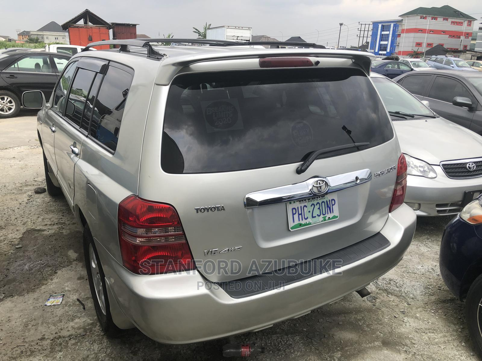 Toyota Highlander 2003 Silver   Cars for sale in Port-Harcourt, Rivers State, Nigeria