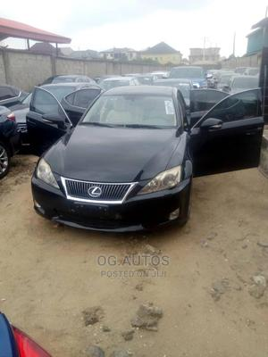 Lexus IS 2010 250 AWD Automatic Black | Cars for sale in Lagos State, Alimosho