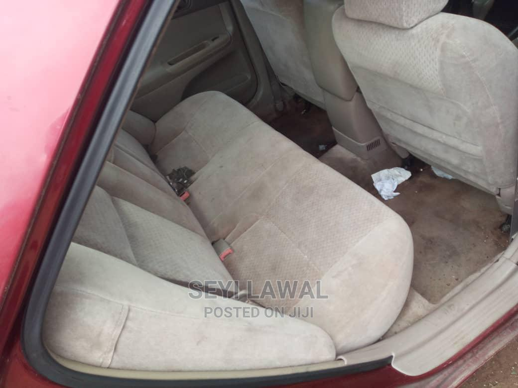 Toyota Camry 2003 Red   Cars for sale in Ogudu, Lagos State, Nigeria