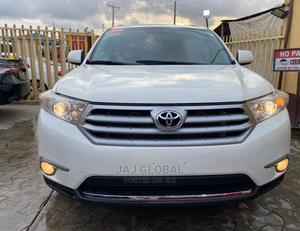 Toyota Highlander 2013 White | Cars for sale in Lagos State, Ipaja