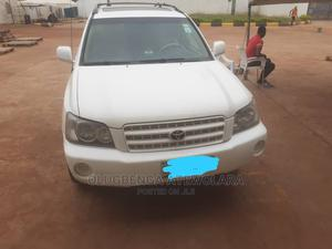 Toyota Highlander 2003 V6 FWD White   Cars for sale in Ogun State, Sagamu