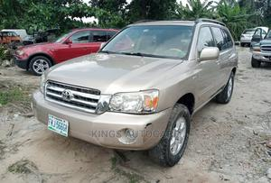 Toyota Highlander 2004 Limited V6 4x4 Gold | Cars for sale in Imo State, Owerri