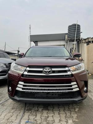 Toyota Highlander 2015 Red   Cars for sale in Lagos State, Ajah