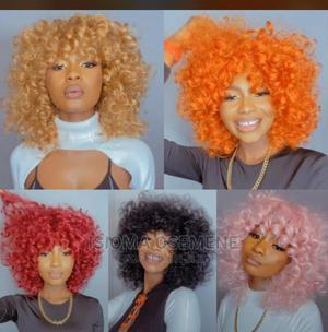 Curly Human Hair Wig | Hair Beauty for sale in Edo State, Benin City