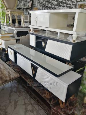 Executive Glass Top Center Table With Tv Stand | Furniture for sale in Lagos State, Ajah