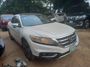 Honda Accord CrossTour 2013 EX-L W/Navigation White   Cars for sale in Lagos State, Magodo