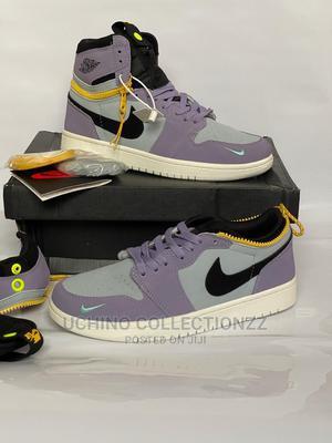 "*Air Jordan 1 High Switch ""Purple Pulse*   Shoes for sale in Lagos State, Lagos Island (Eko)"