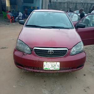 Toyota Corolla 2005 LE Red | Cars for sale in Lagos State, Alimosho